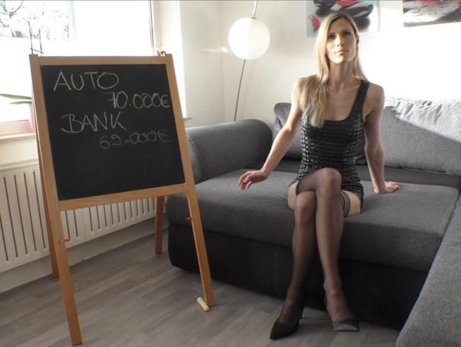 MellyBunnyLuder Porno Video: Schuldenberater Peter Legat macht mich zur PORNO-BITCH